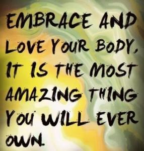 Kehoni liikkuu, olen todella kiitollinen